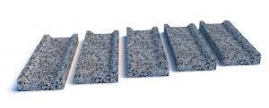 ВВодосток бетонный 500х175х50 мм