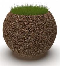 Вазон бетонный Глобус