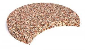 Плитка бетонная тротуарная с выемкой 60х5 см