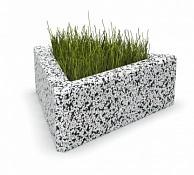 Вазон бетонный Дельта