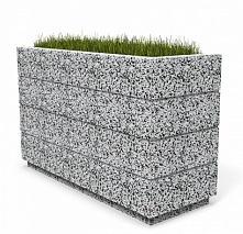 Вазон бетонный Бар 120
