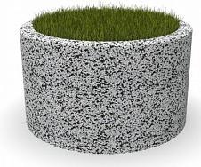 Вазон бетонный Люксембург 75