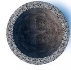Вазон бетонный Луна 50