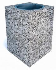 Урны бетонные Квадро макси