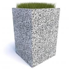 Вазон бетонный Андорра 100
