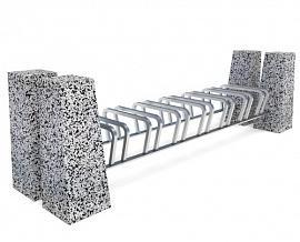 Велопарковка бетонная 7X Римини