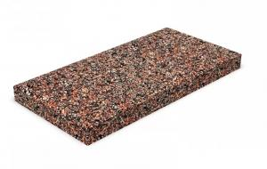 Плитка бетонная фасадная цокольная  40х20 см