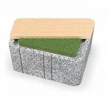 Скамейка бетонная UNI SLL