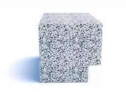 Скамейка ТЕМПO-700 с бетонным основанием