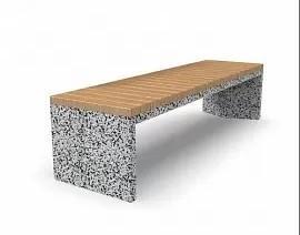 Скамейка бетонная Сочи