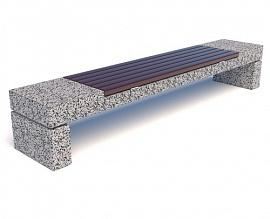 Скамейка бетонная Блокфилд